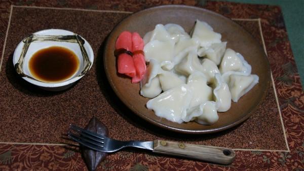 お昼は水餃子_e0166355_12203027.jpg
