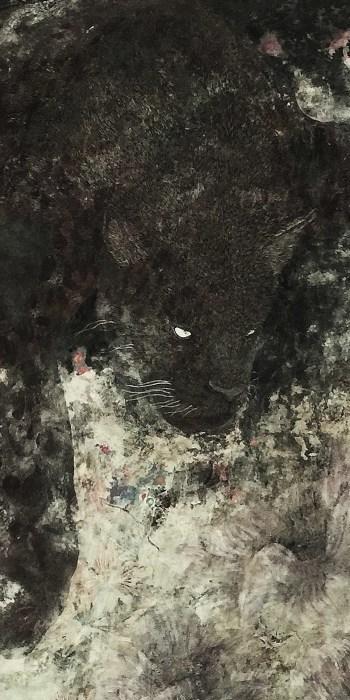 米田 実 日本画展 -豹憑-  _e0255740_01414012.jpg