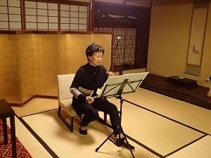 金沢町家で笛三昧_f0233340_1154736.jpg