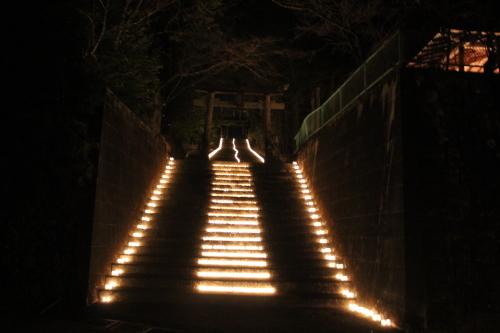 キャンドルIN熊野神社_e0101917_19070584.jpg