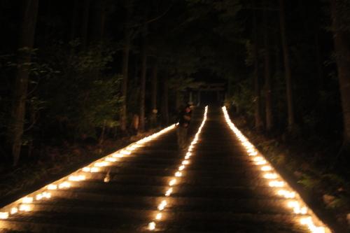 キャンドルIN熊野神社_e0101917_19100691.jpg