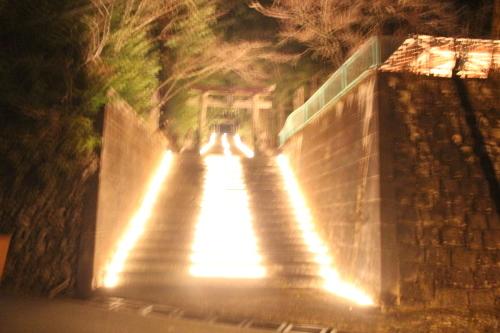 キャンドルIN熊野神社_e0101917_19121532.jpg