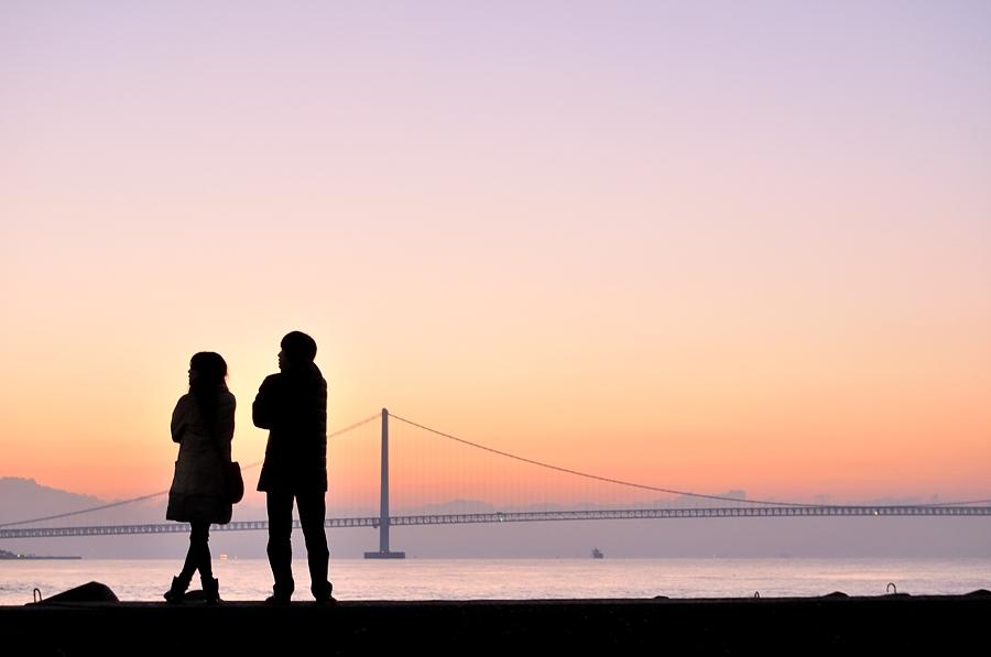 2016初日の出(明石海峡大橋)_d0148541_180914.jpg