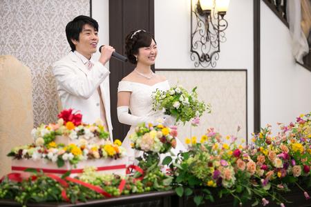 新郎新婦様からのメール 代官山 鳳鳴館の花嫁様から 夏の装花 お金を出しても得難いもの_a0042928_23111498.jpg
