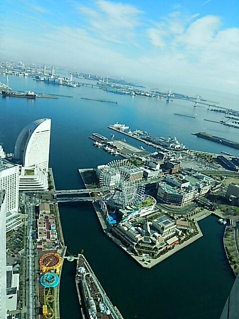 横浜 ランドマークタワーから_c0124528_13033245.jpg