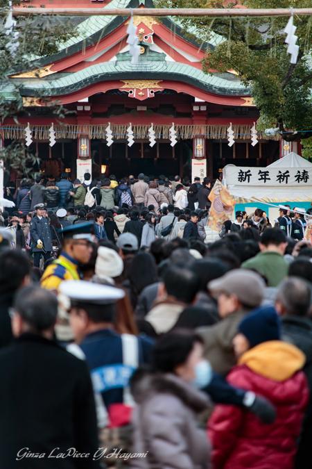 正月の風景 元日の富岡八幡宮_b0133053_02751.jpg