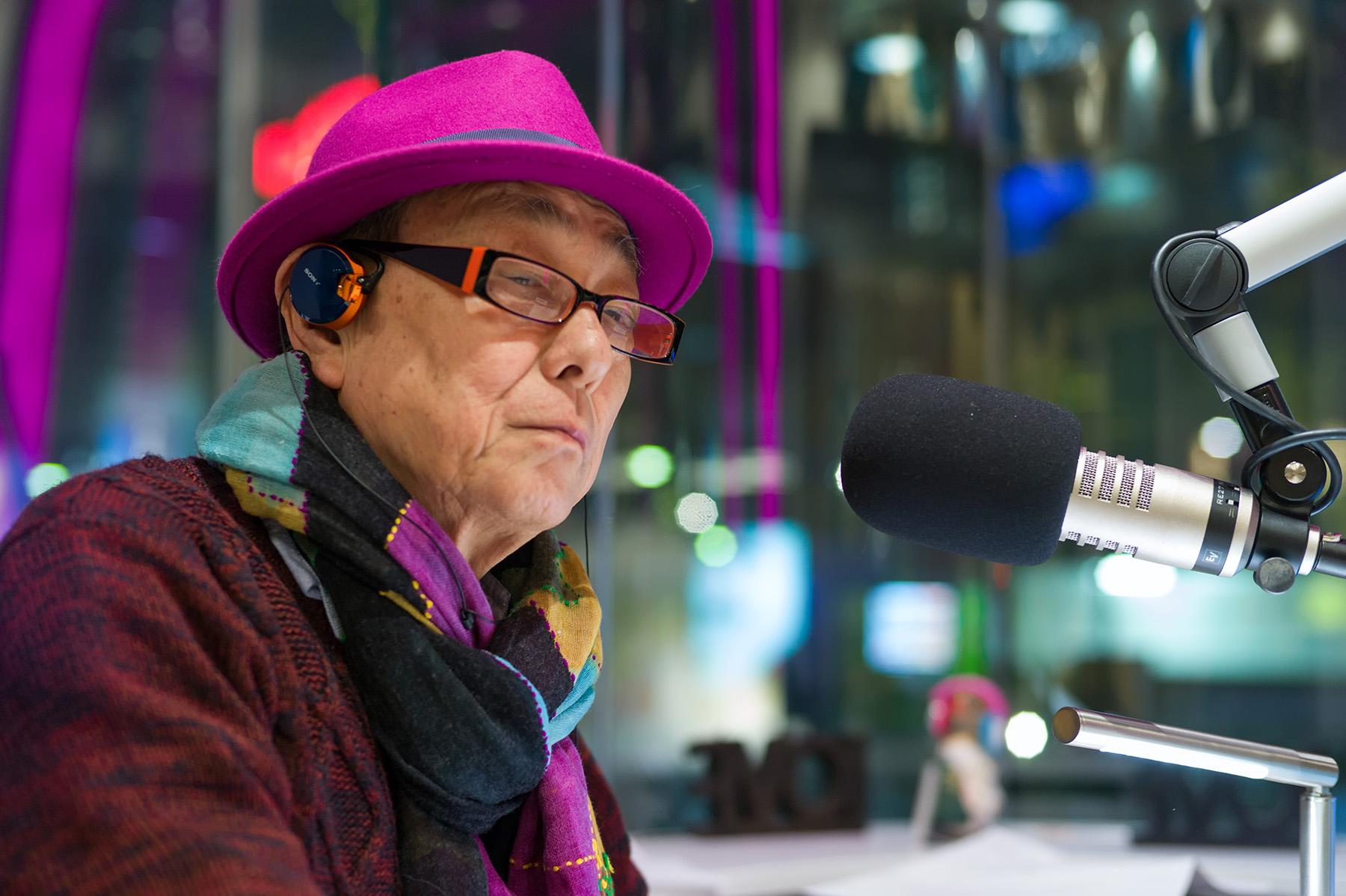 謹賀新年〜世界最高齢現役DJ・松井伸一氏〜_c0028861_12272115.jpg