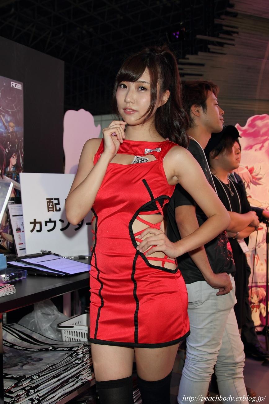 橘亜李彩 さん(Fuji&gumi Games ブース)_c0215885_2318819.jpg
