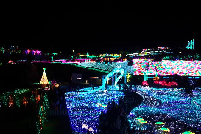 伊豆グランパル公園のイルミネーション2_a0263109_20202298.jpg