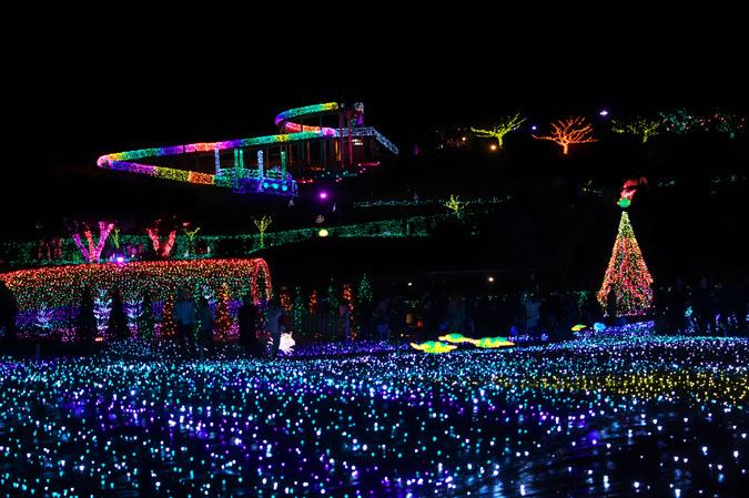 伊豆グランパル公園のイルミネーション2_a0263109_20215513.jpg