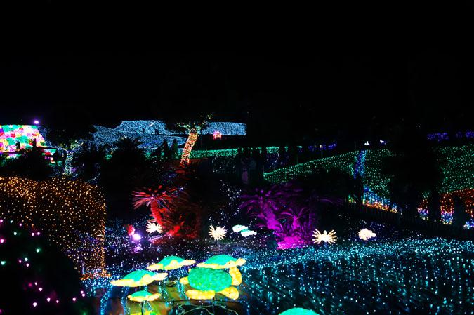 伊豆グランパル公園のイルミネーション2_a0263109_20222082.jpg