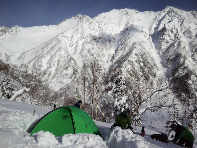 冬季槍ヶ岳登山_e0231387_115843100.jpg