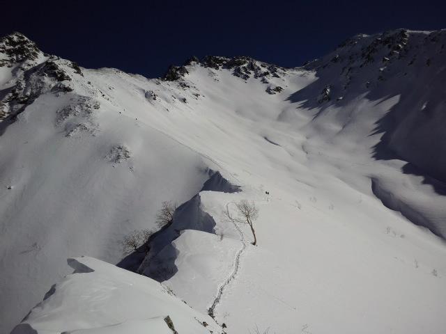 冬季槍ヶ岳登山_e0231387_12142927.jpg