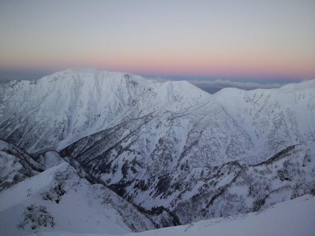 冬季槍ヶ岳登山_e0231387_1244372.jpg
