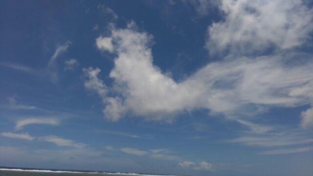 《空と雲》いろんな形に見える雲~何かを感じたら、それもメッセージです。(^^)~_b0298740_18132910.jpg