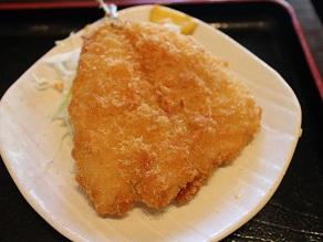 西早稲田のひまわりで肉じゃがアジフライ定食_c0030645_19593184.jpg