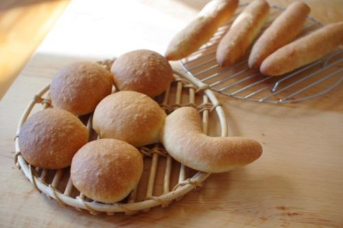 白神こだま酵母レシピのプチパン_c0110869_723489.jpg