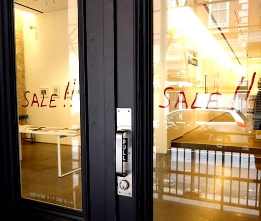 """新年早々、アートな刺激 """"agnès b."""" Galerie Boutique 50 Howard Street_b0007805_2342763.jpg"""