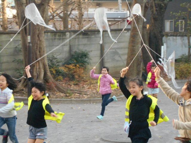 1月5日 工作教室 凧作り_c0315908_16032993.jpg