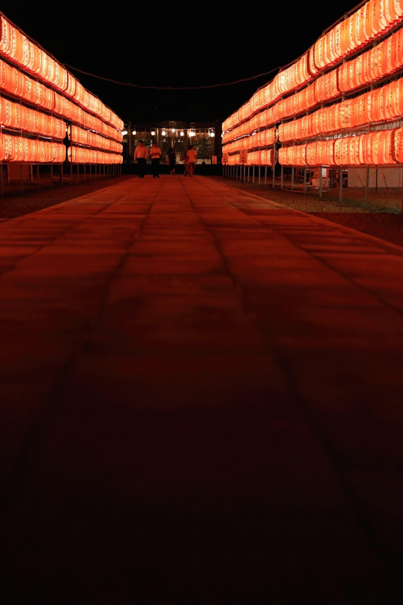 香川県護国神社 万灯みたままつり_d0081605_263450.jpg
