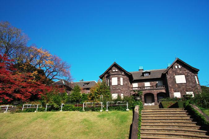 旧古河庭園の紅葉1_a0263109_13472550.jpg