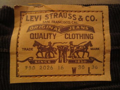 Levis France made Corduroy!!_a0182112_1839055.jpg