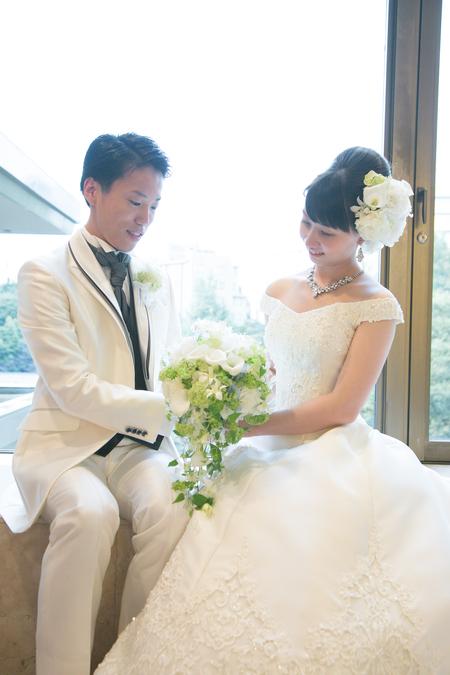 新郎新婦様からのメール 八芳園の花嫁様より 手作りのつまみ細工と_a0042928_4395598.jpg