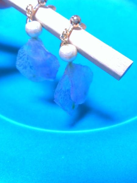 新郎新婦様からのメール 八芳園の花嫁様より 手作りのつまみ細工と_a0042928_4582576.jpg