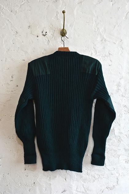 English commando sweater dead stock_f0226051_14515745.jpg