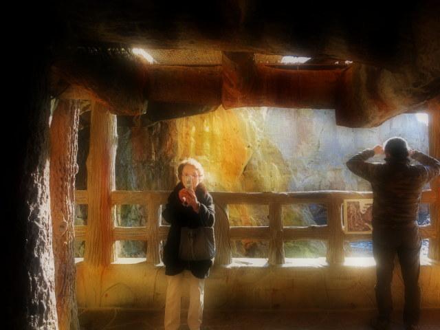 南紀白浜温泉で年越し ③景勝地・三段壁_f0236260_1152835.jpg