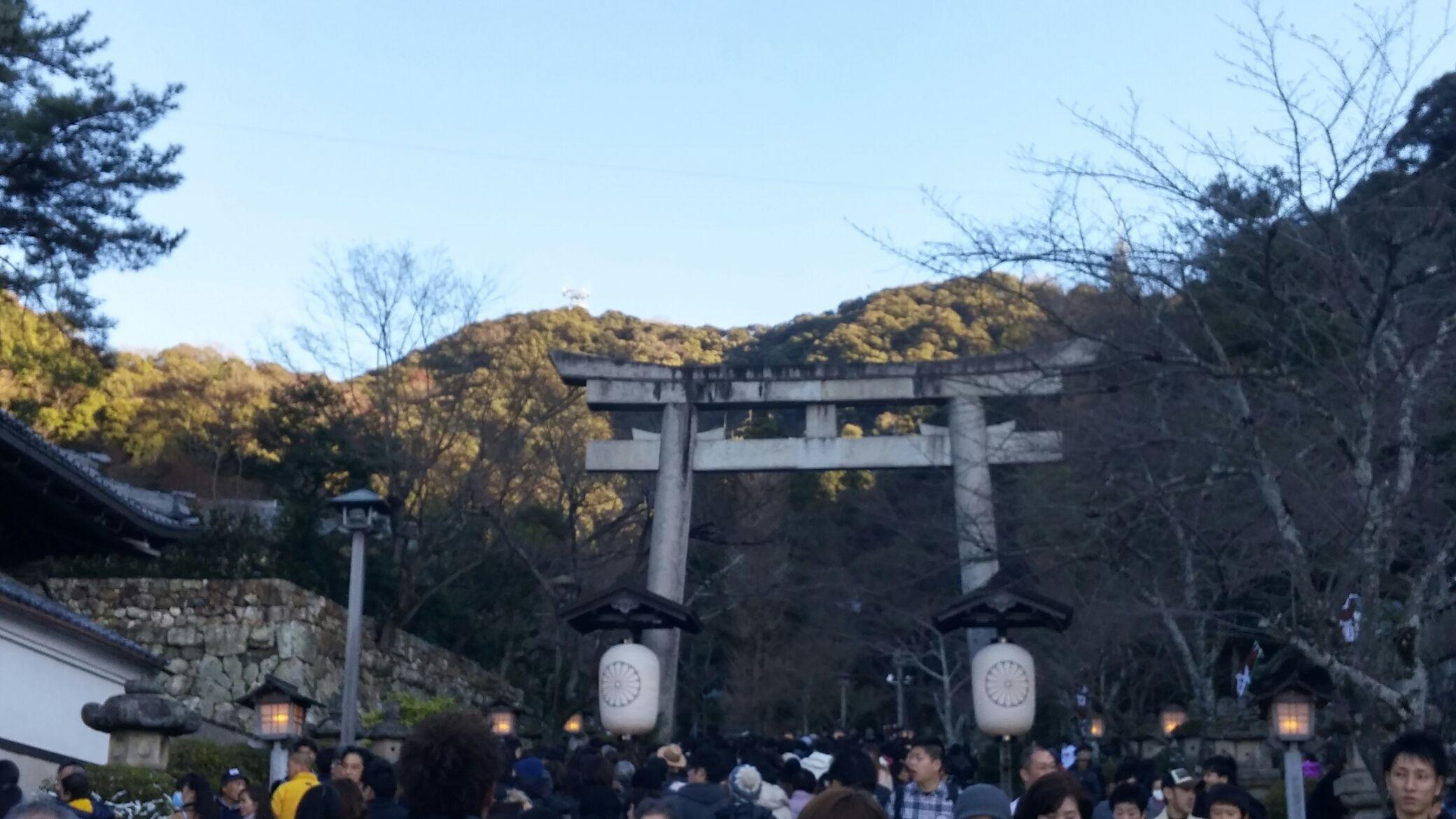 平成廿八年 一月一日 伊奈波神社參拜 於岐阜縣岐阜市 _a0165993_20153432.jpg