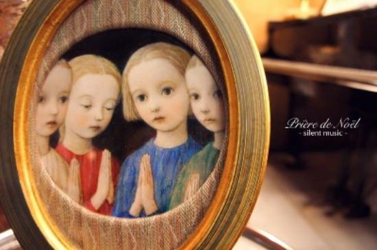 ~ 祈りの光 † Prière de Noël ~ 12/12~20 ☆ 展示風景_c0203401_22202364.jpg