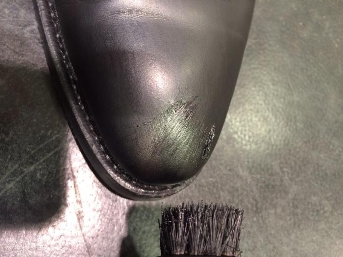 黒い靴は光沢が命_b0226322_11501321.jpg