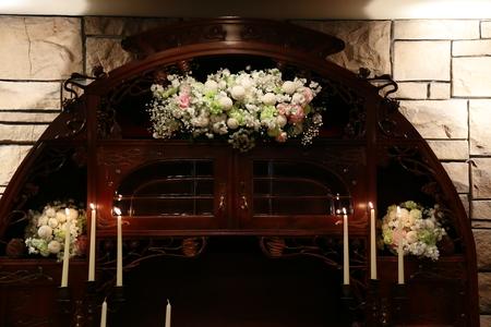 新郎新婦様からのメール HANZOYAの花嫁様より 挙式装花、色褪せぬ愛のシェアブーケ_a0042928_20333740.jpg