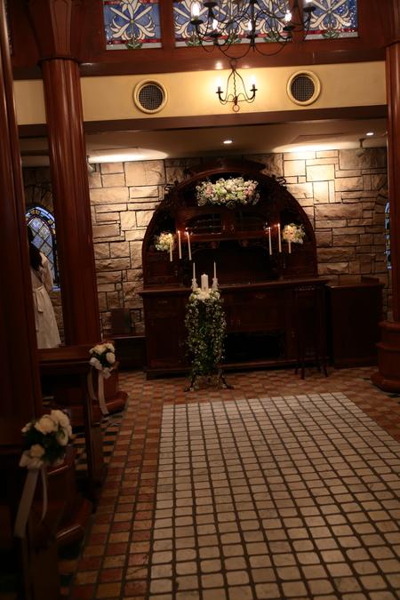 新郎新婦様からのメール HANZOYAの花嫁様より 挙式装花、色褪せぬ愛のシェアブーケ_a0042928_2034157.jpg