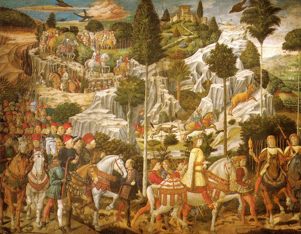 1月6日のフィレンツェは三博士の騎馬行列_f0106597_07043282.jpg