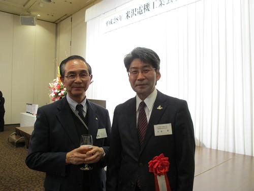 平成28年米沢電機工業会賀詞交歓会・・・2_c0075701_20445462.jpg