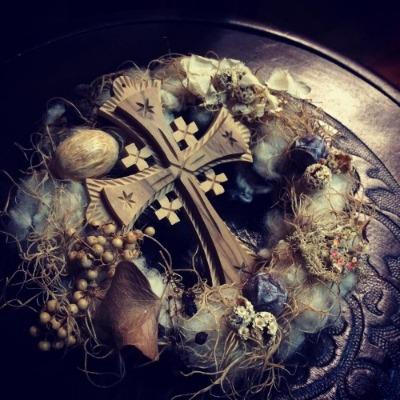 ~ 祈りの光 † Prière de Noël ~ 12/12~20 ☆ 展示風景 _c0203401_1294111.jpg