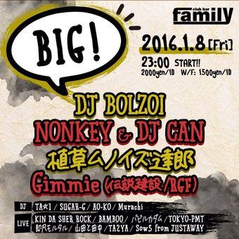 01/08(fri) BIG @ Club bar family_a0262614_1912519.jpg