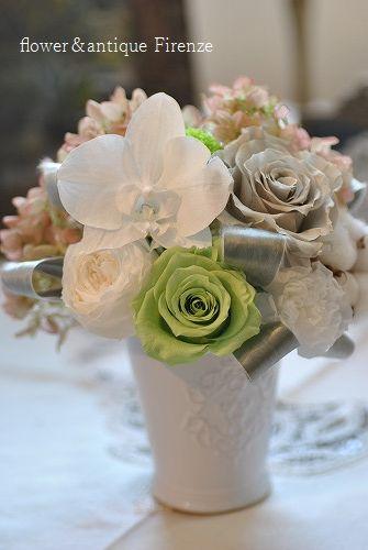 *プリで作るお仏壇のお花*_e0159050_1692962.jpg