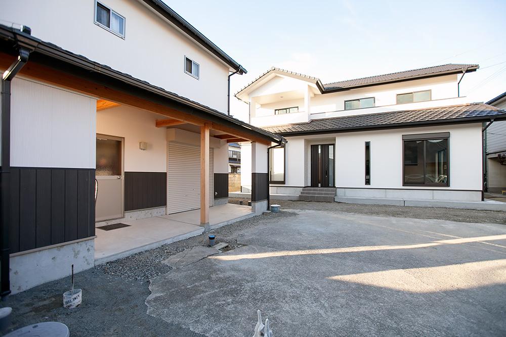 伝統ある町並みに建てる風格ある木造邸宅(5)_a0163962_9211134.jpg