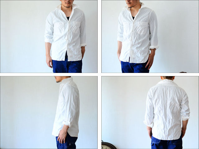 orslow [オアスロウ] chambray shirts WHITE [01-8070-69] MEN\'S_f0051306_19061842.jpg