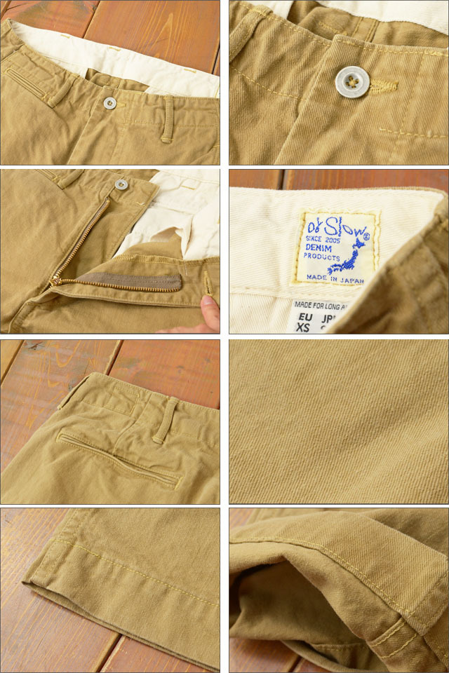 orslow[オアスロウ] SLIM FIT US ARMY TROUSER KHAKI [01-5361-40] MEN\'S_f0051306_19092765.jpg