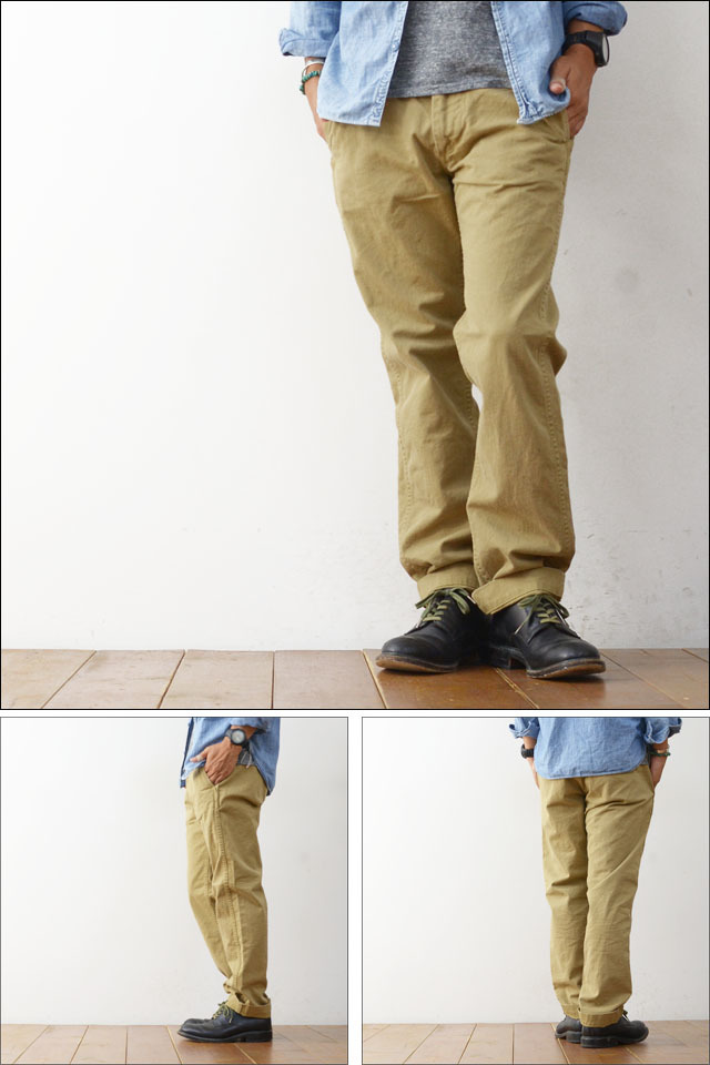 orslow[オアスロウ] SLIM FIT US ARMY TROUSER KHAKI [01-5361-40] MEN\'S_f0051306_19092782.jpg