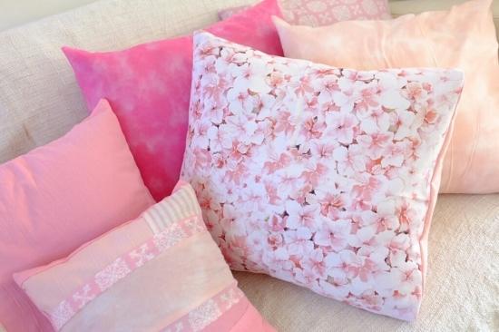 たくさんのピンクを使えば、甘すぎずバランスのとれた春らしさを演出できる!