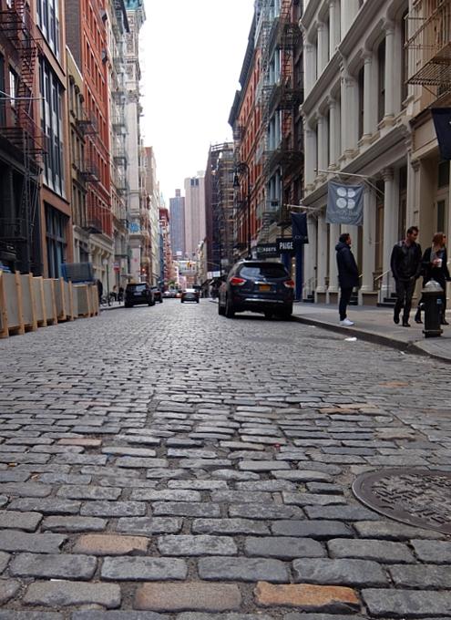 ニューヨーク、SOHOの風情たっぷりな街角風景_b0007805_21395272.jpg