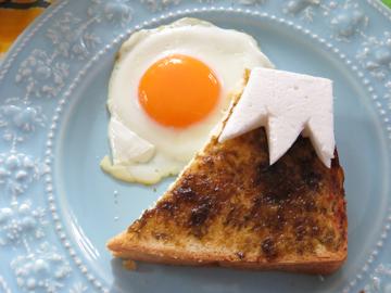 リプトンひらめき朝食 「日の出富士パン」_a0150910_2321422.jpg