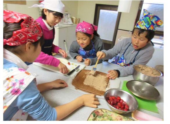 クリスマス♪小学生クラス(上高野)_f0211514_1333314.jpg