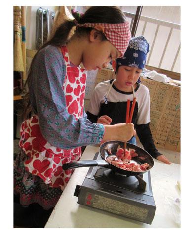 クリスマス♪小学生クラス(上高野)_f0211514_1424629.jpg
