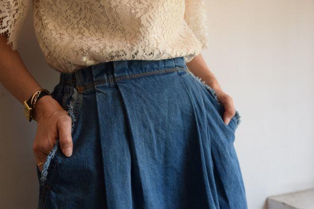 Kaonのフレアスカートで   ・ ・ ・_b0110586_19013888.jpg